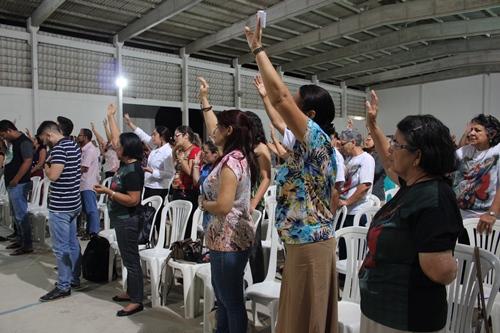 Deus cuida de nós! – Confira como foi a missa em honra a São Miguel Arcanjo do mês de Abril