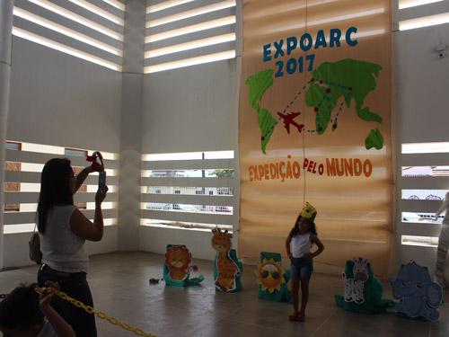 """IEDMD promove Exposição de arte e cultura com o tema """"Expedição pelo mundo"""""""